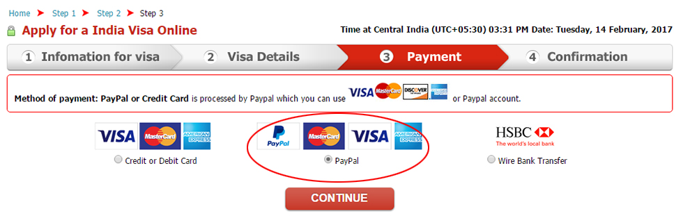 Pay by Paypal - Credit Card/ Paypal