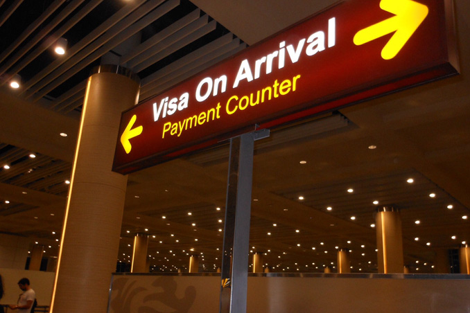 Myanmar and Vietnam visa on arrival